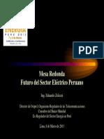 12. Ing. Eduardo Zolezzi - Futuro Del Sector Eléctrico Peruano