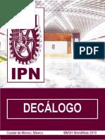 Decalogo del Instituto Politécnico Nacional.