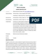 Microcurriculo - ANÁLISIS ESTRUCTURAL