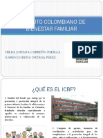 ICBF Funcion administrativa
