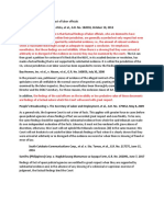 Jurisprudence on findings of facts of labor officials