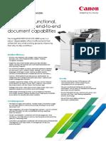 IR-ADV 4500i Datasheet