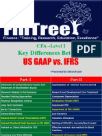 Key Differences Between US GAAP and IFRS