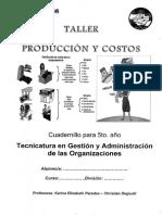 produccion y costo