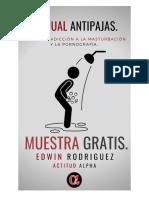 Manual Antipajas Muestra Gratis Para Regalar- Edwin Rodriguez