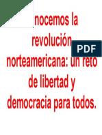 Conocemos La Revolución Norteamericana