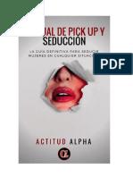 Manual de Pick Up y Seducción