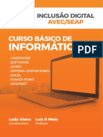 APOSTILA de INFORMATICA AVEC 2019 Curso Basico de Informatica Finalizado