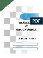 algebra 3° sec