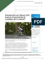 Prevención en Salud. La importancia del cuidado de tu salud.pdf