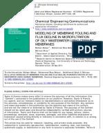 microfiltración tangencial