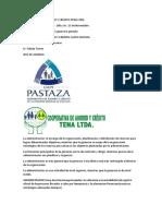 Cooperativa de Ahorro y Crédito Tena Ltda