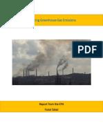 reducing greenhouse gas emissions  tca