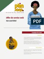 Offre de Service Web Star Land Hôtel