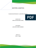 La Planeación y La Gestión Logistica