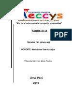 Mono Taquilalia