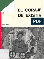 El Coraje de Existir. Tillich, Paul.pdf