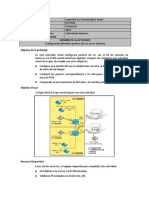 Act Configurando Diferentes Puertos de Voz en Un Gateway