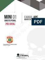 mini simulado de direito penal projeto caveira 2018