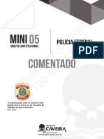 5º Mini Constitucional - Pós-Edital - PF - Gabarito Comentado
