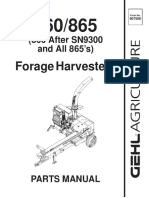 860-865 Forage Harvester