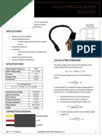 Sensor Tekanan SKU237545