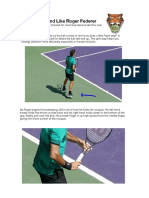 How to hit like Federer