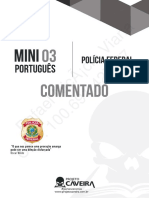 Mini simulado Português - Pós-Edital - PF - Gabarito Comentado
