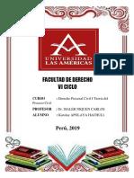 Derecho Procesal Civil I Teoría Del Proceso Civil