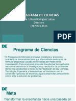 Programa de Ciencias