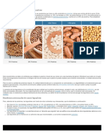 Características Nutricionales de Las Legumbres