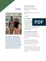1st 6 Weeks Newsletter