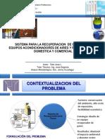 Presentacion de Diseño de una recuperadora de gases damestica comercial