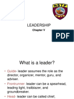 Nstp Cwts Chapter 5 Leadership (1)