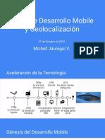 Taller de Desarrollo Mobile y Geolocalización 2015