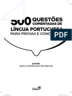 500 questoes portugues