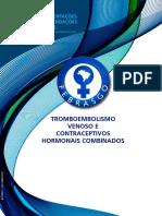 Tromboembolismo Venoso e Contraceptivos Hormonais Combinados