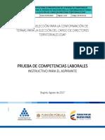 Instructivo Competencias DT