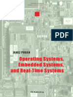 Operating Systems Embedded Systems and Real-time Systems