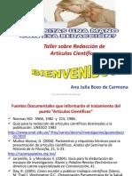 Redación Artículos Científicos 2013 particular.ppt