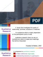 L2 Qualitative Research