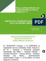 Presentacion Licitacion 1 de 2012 - 6 Marzo 2012