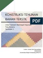Modul Konstruksi Tenunan Bahan Tekstil