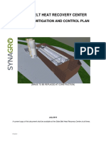 Synagro Nuisance Mitigation and Control Plan for Plainfield Township biosolids plant land development plan