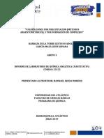 Argentometria y complexometria practicas