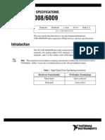Manual NI-6008