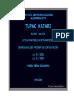 Cronologia Proyecto Multipropósito