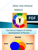 Lesson 2developing the Whole Person