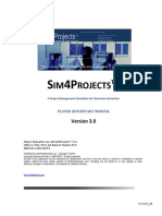Sim4Projects(v3.0) PlayerQuickStart