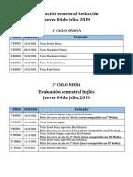 Evaluación Semestral Redacción_ Ingles